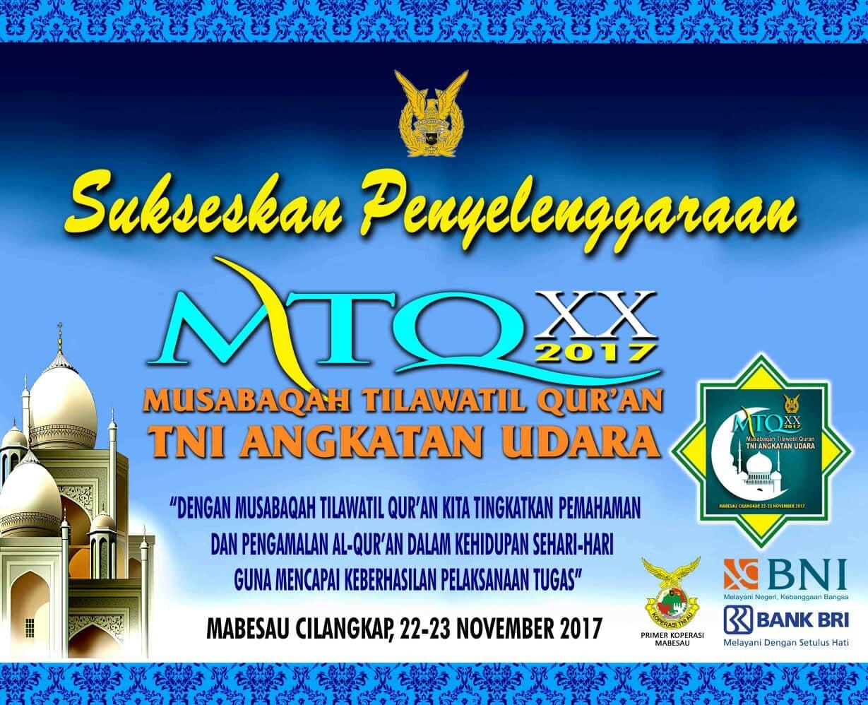 MtQ XX 2017 TNI Angkaran Udara