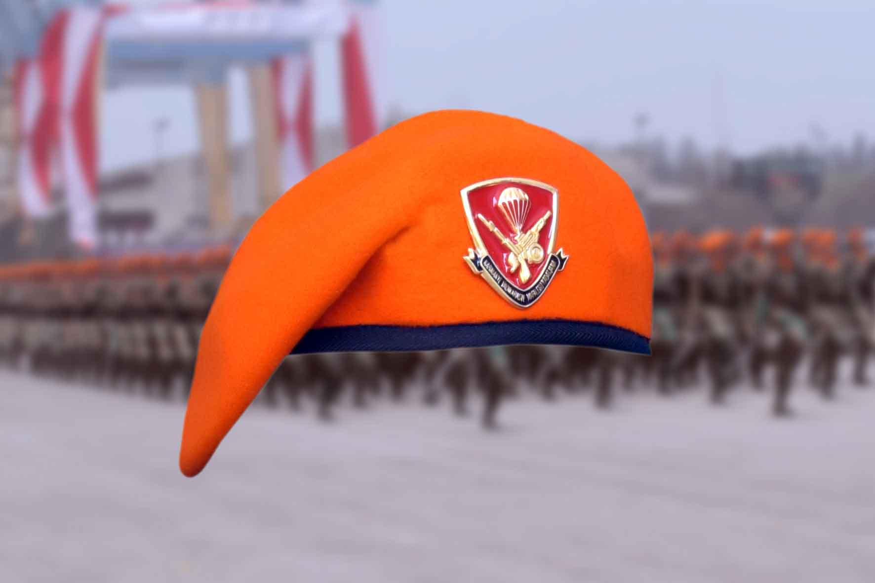 tni au   baret paskhas resmi terdaftar di kementerian