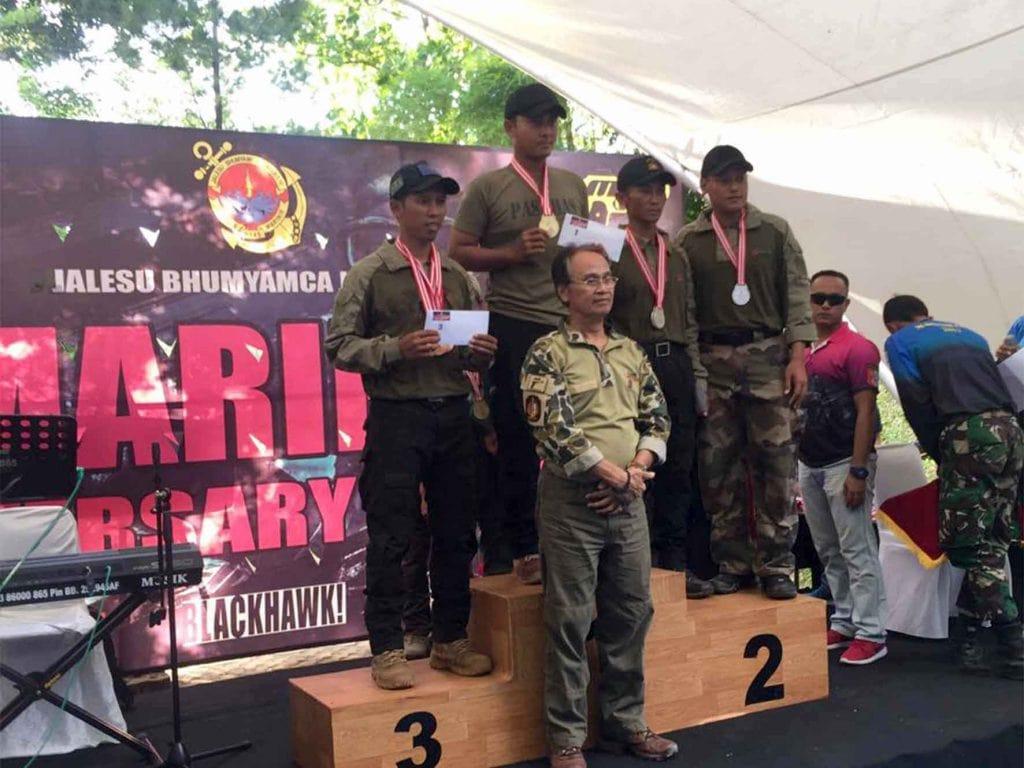 Cakra Bhaskara Shooting Club Harumkan Nama Korpaskhas di ajang Marinir Cup 2017