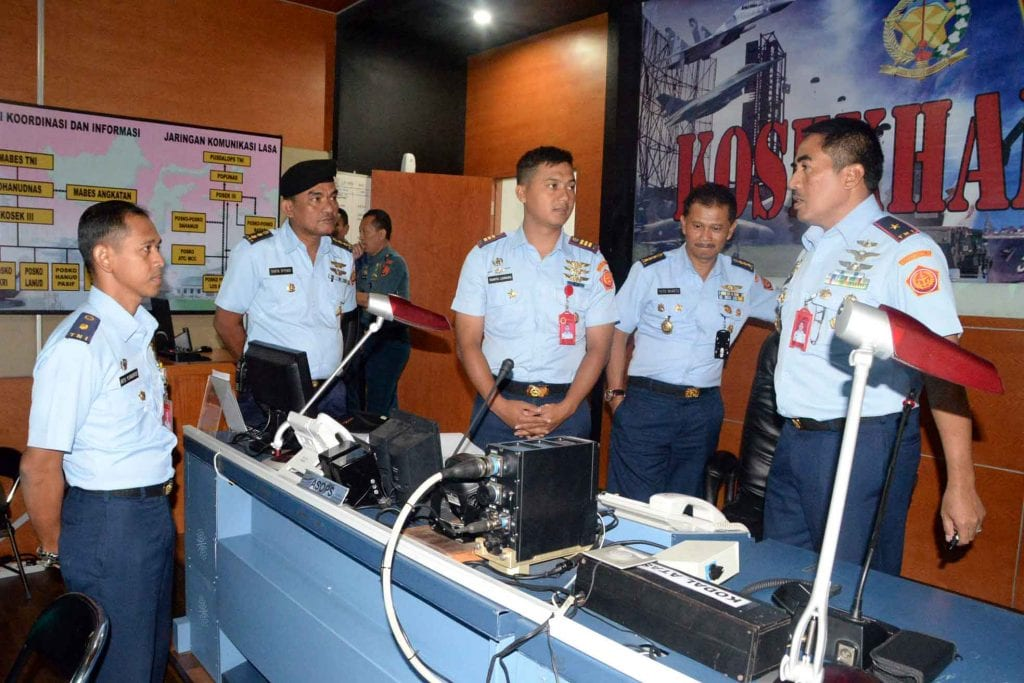 Panglima Kosekhanudnas III Menerima Tim Asistensi Teknis dari Skomlek Mabes TNI