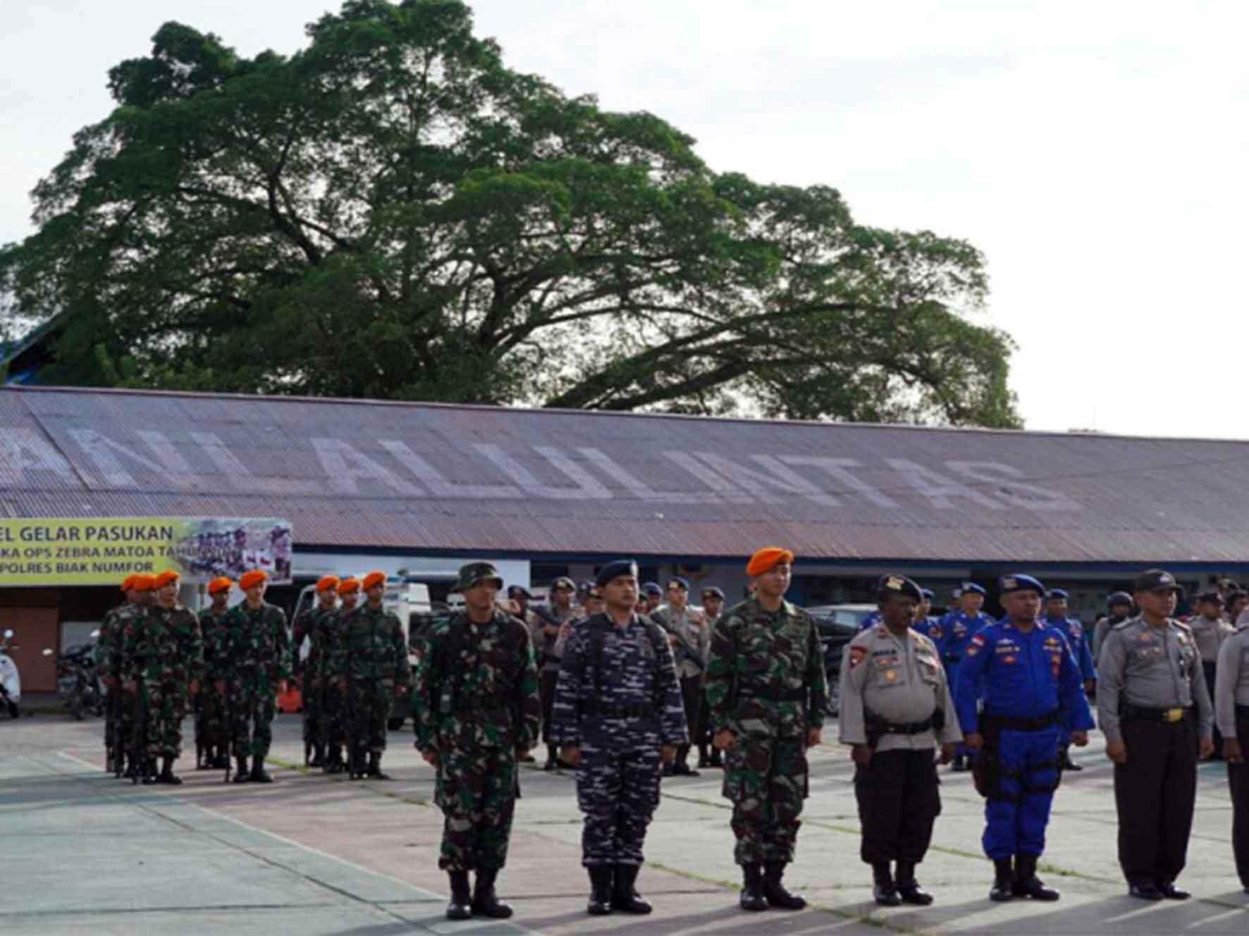 Apel Gelar Kesiapan TNI Dan Polri menjelang Bulan Desember