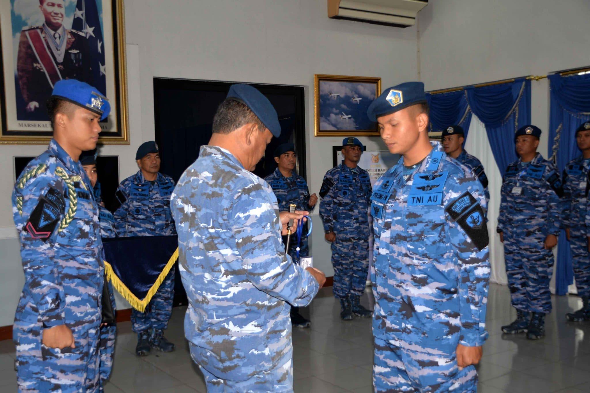 Komandan Lanud Sultan Hasnauddin Buka Pelatihan CRM Angkatan ke-27