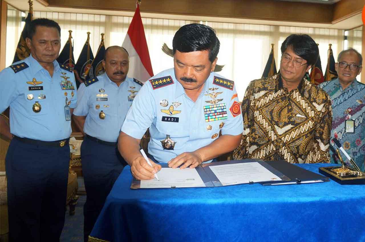 TNI AU dan Pertamina Jalin Kerjasama