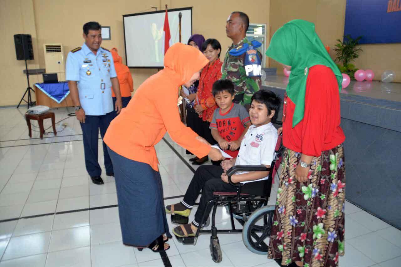 Syukuran HUT PIA Ardhya Garini di Lanud Surabaya