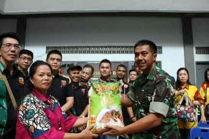 Bakti Sosial Keluarga Besar Wing III Paskhas dan Yonko 469 Paskhas
