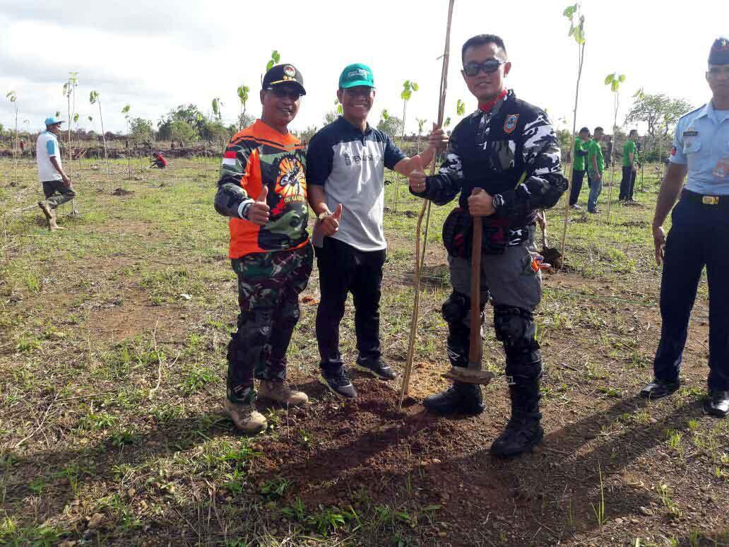 Hari Menanam Pohon Indonesia 2017 di Kalimantan Selatan