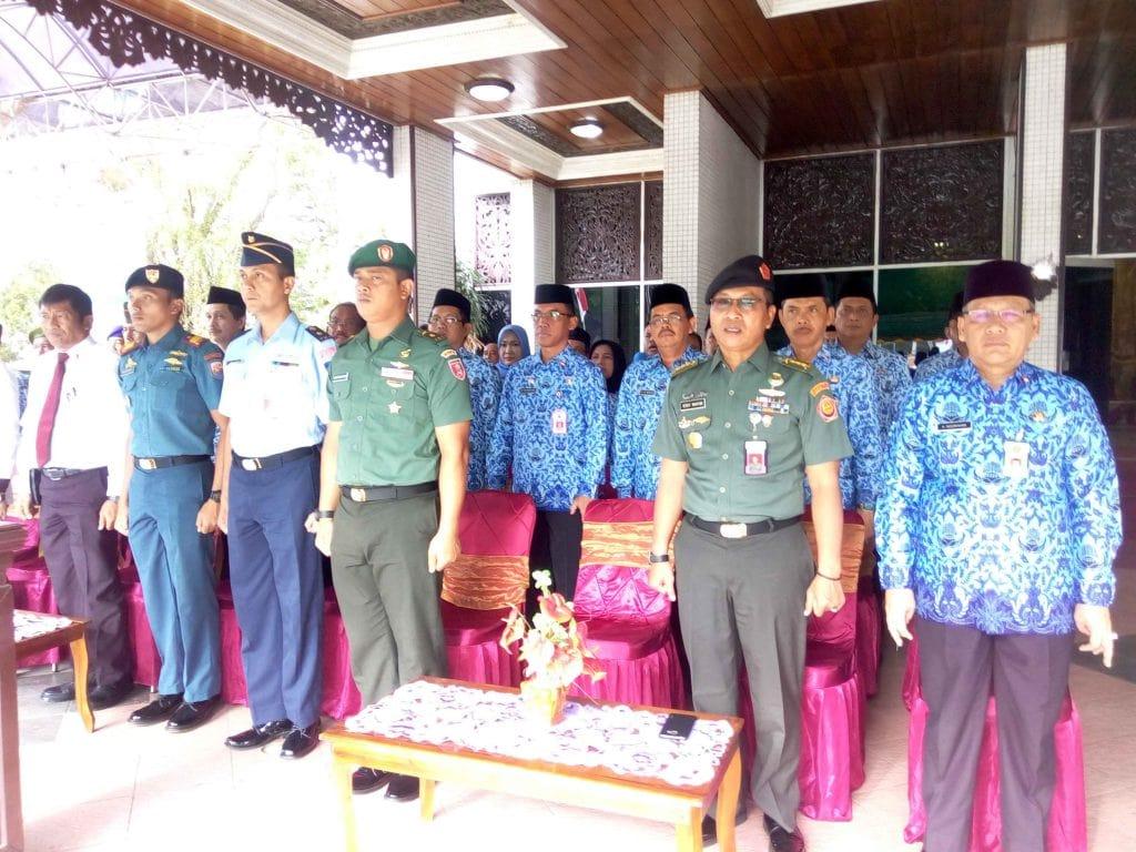 Lanud Sjamsudin Noor Ikuti Upacara Hari Bela Negara Tahun 2017 di Banjarmasin