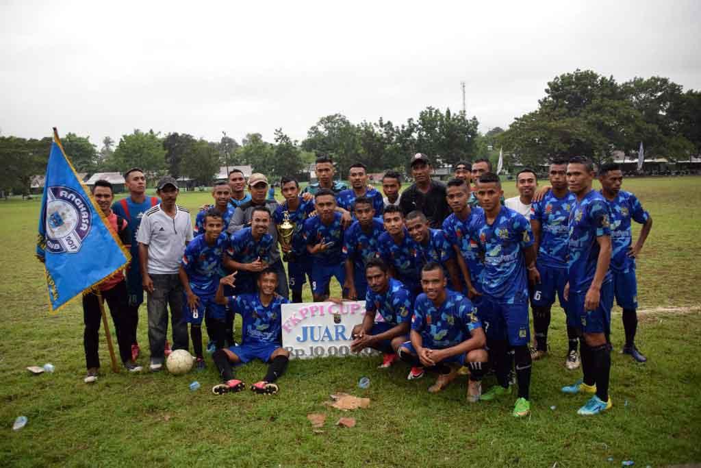 TOURNAMEN SEPAK BOLA DANREM CUP TAHUN 2017 ANGKASA FC JUARA II