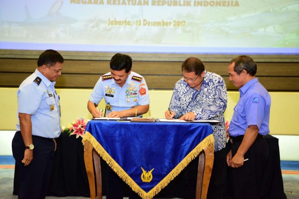 KOMINFO DAN TNI AU WUJUDKAN INTERNET KECEPATAN TINGGI