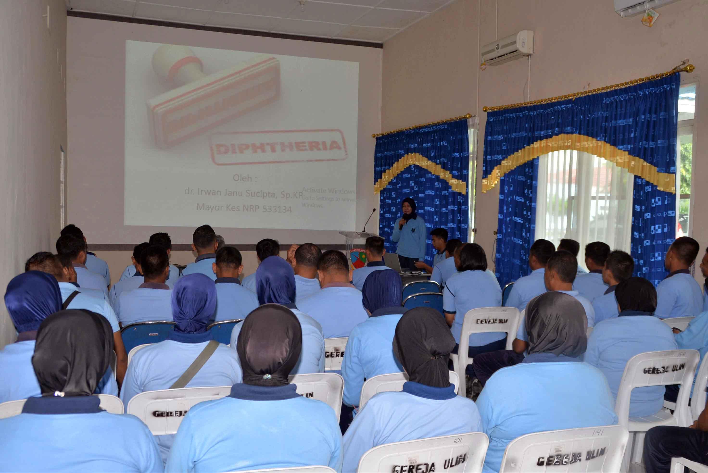 Safety Meeting Bidang Kesehatan di Lanud Sjamsudin Noor