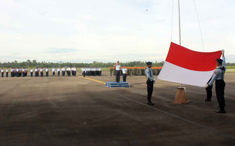"""""""PRAJURIT LANUD SUPADIO AGAR SELALU MENJAGA NETRALITAS TNI"""""""