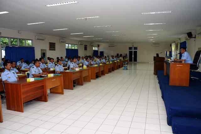Jabat Dansekkau, Kolonel Pnb Esron Sinaga Awali Kerja dengan Entry Briefing