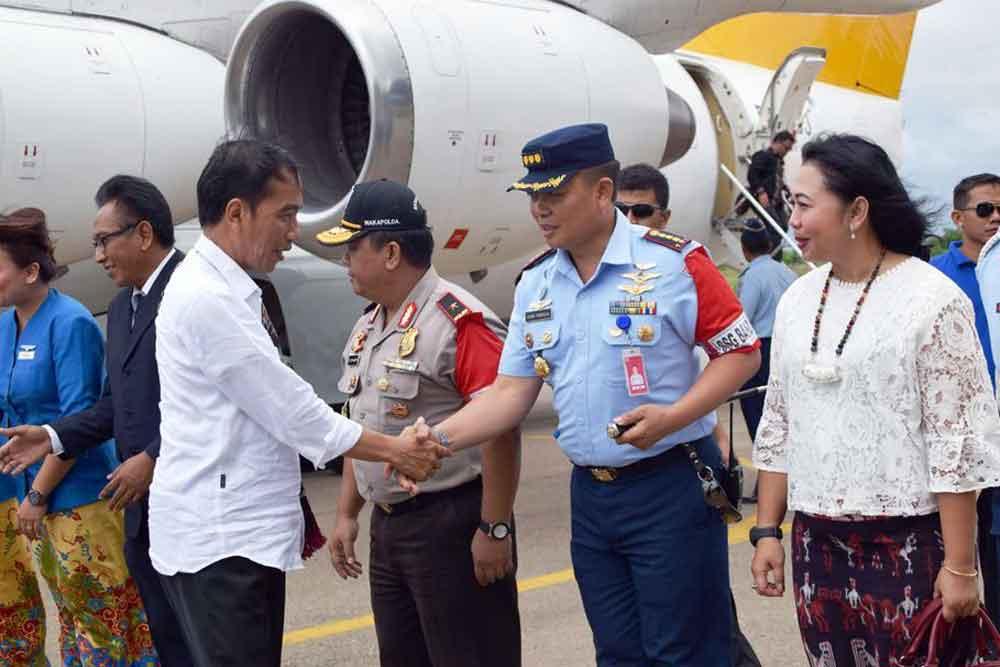 Kunjungan Kerja Presiden Republik Indonesia Di NTT