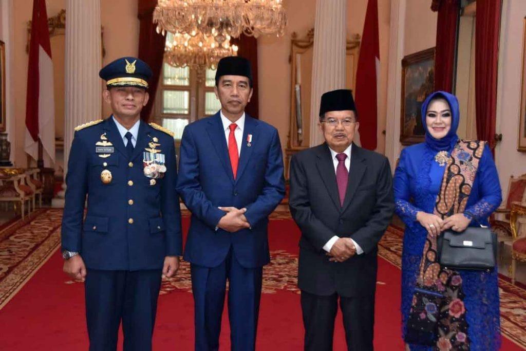 Pelantikan Kasau Marsekal TNI Yuyu Sutisna, S.E., M.M. gantikan Marsekal TNI Hadi Tjahjanto, S.IP.