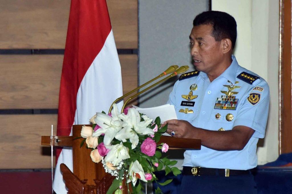 Entry BriefingKasau :Dukung Program Pemerintah, TNI AU TingkatkanMaritime Air Support