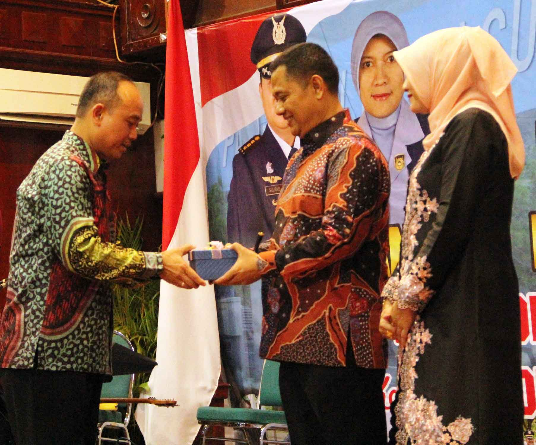 Acara Pisah Sambut Danlanud Sultan Iskandar Muda