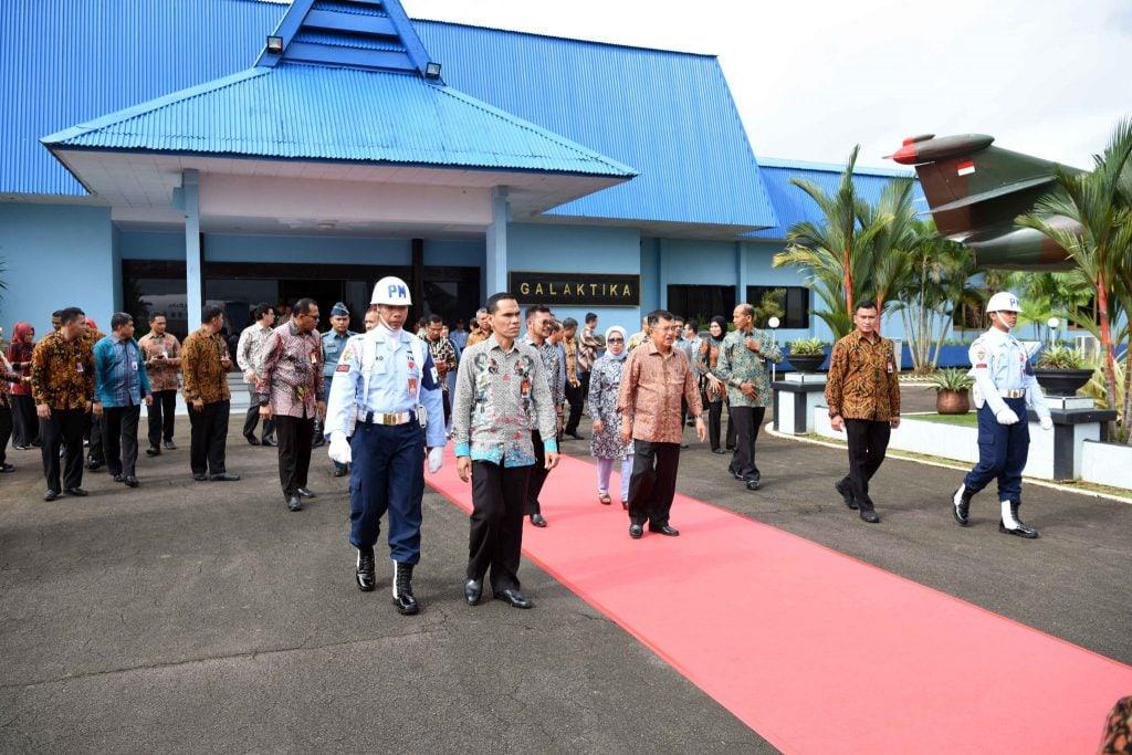 Wakil Presiden RI Jusuf Kalla Kembali Kuker Di Sulawesi Selatan