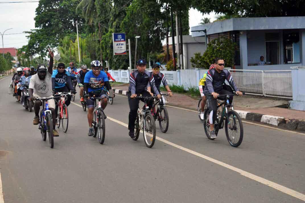 Fun bike Dalam Rangka Membina Pemuda Dirgantara