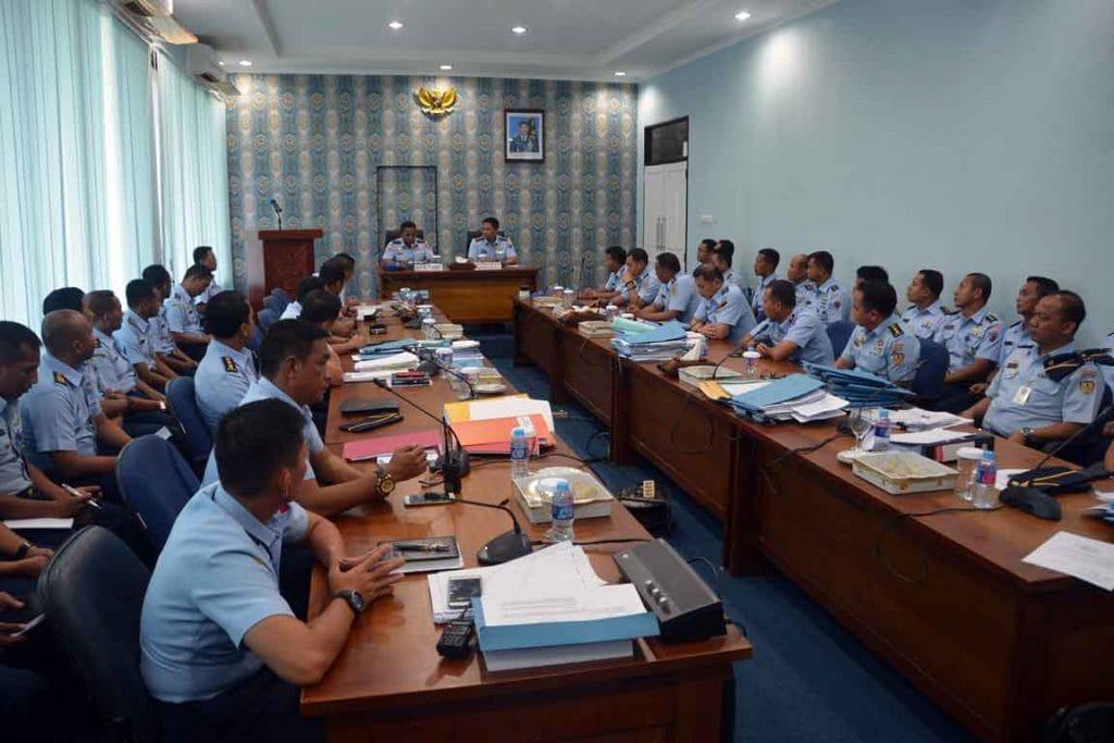 Exit Briefing Wasrik Itjenau di Lanud Supadio