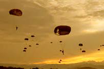 Terjun Penyegaran Batalyon Komando 465 Paskhas