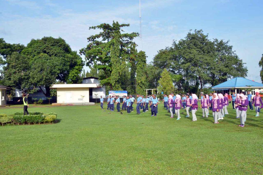 Olahraga Bersama Di Kosekhanudnas II