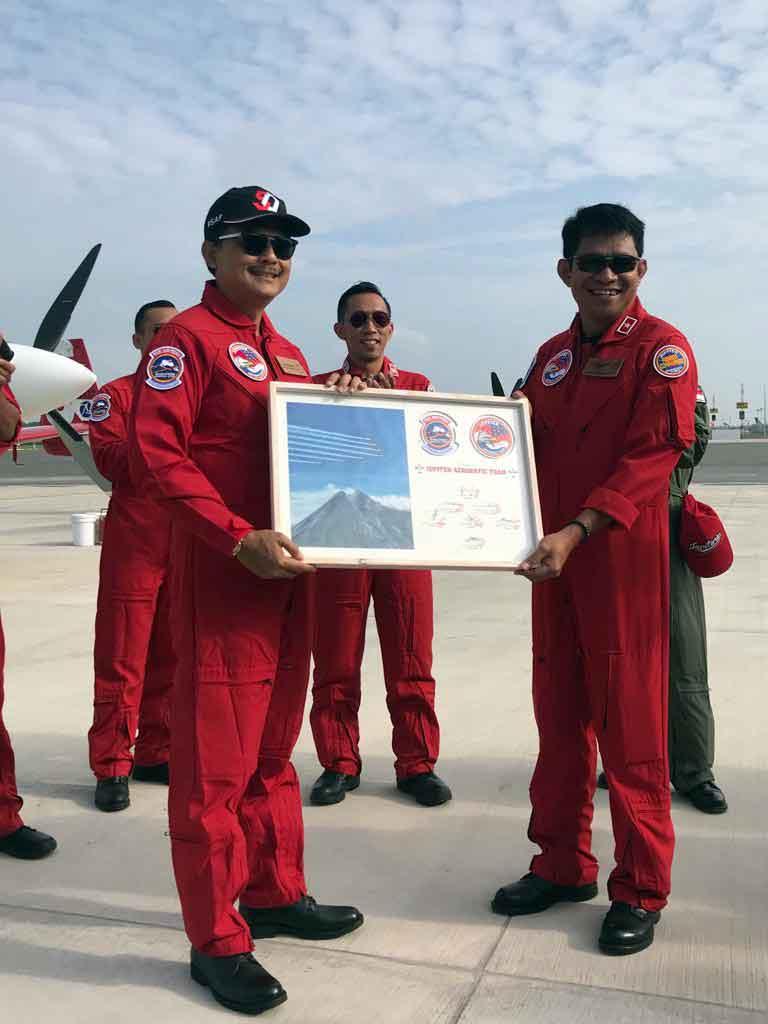 JAT Jalani Gladi kedua, Dubes RI di Singapura ajak Masyarakat Indonesia doakan JAT