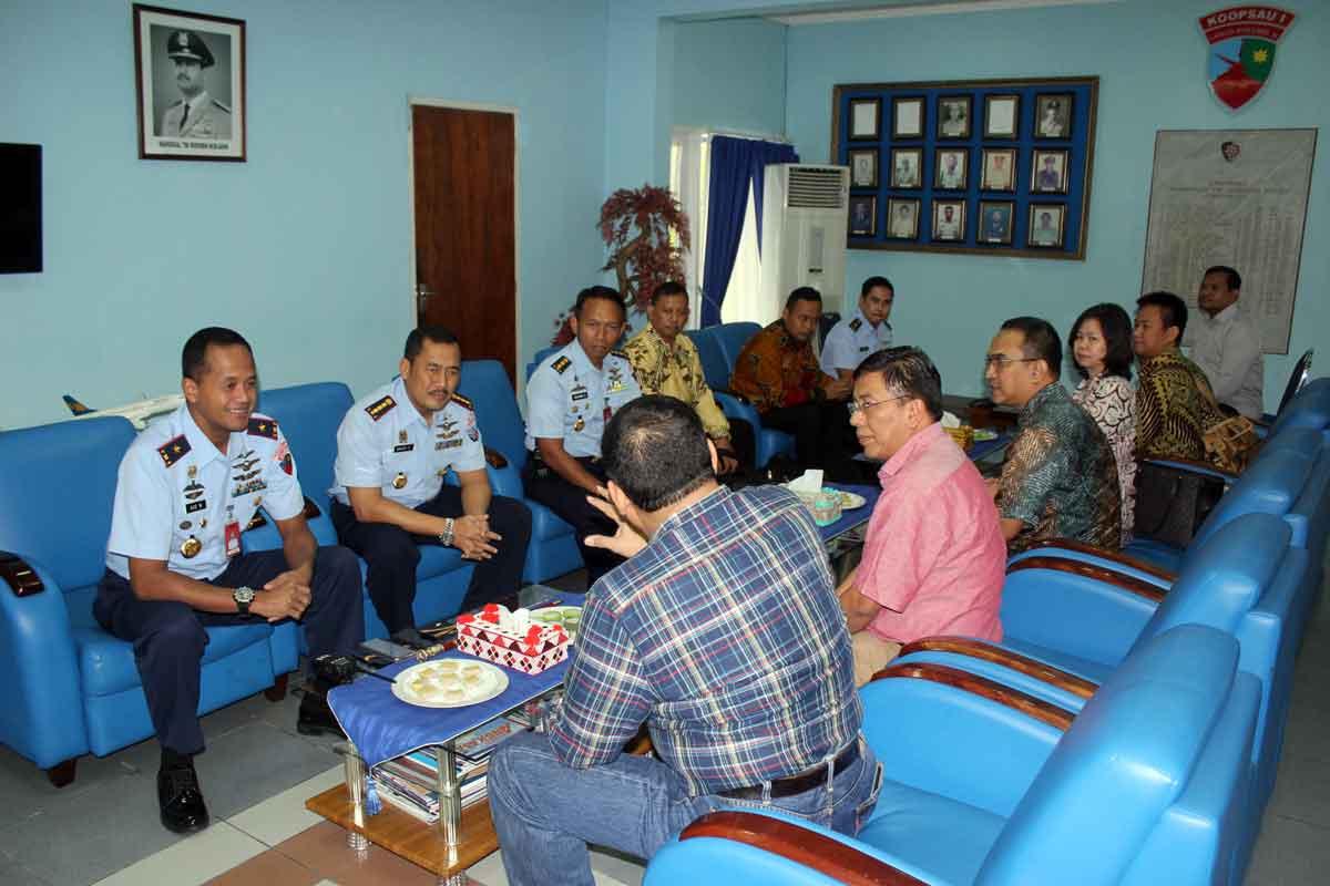 Tim Kemhan dan TNI AU Tinjau Lahan Pembangunan RS TNI AU di Lanud Rsn