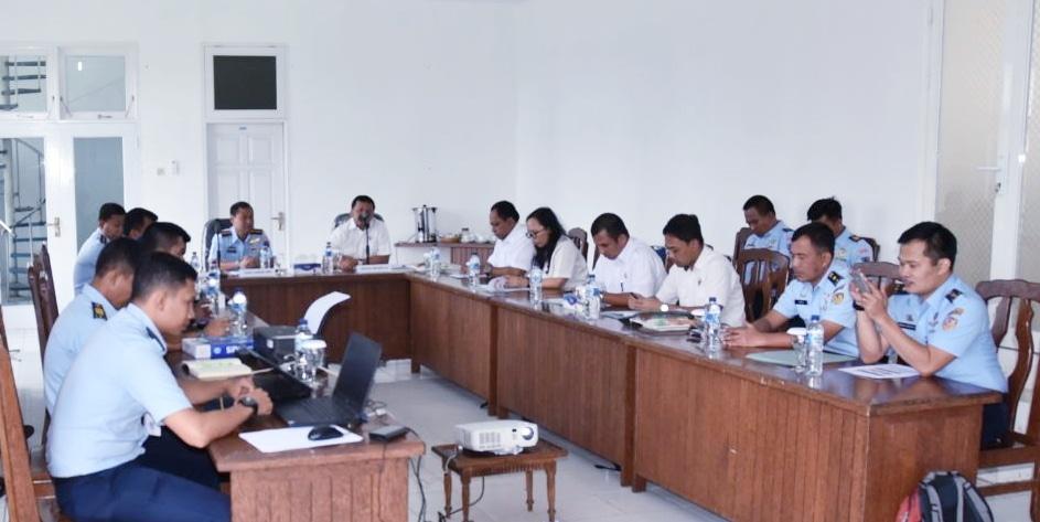 Tim BPK RI di Lanud Sam Ratulangi