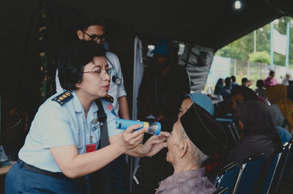 Jelang Akhir Surdas, Lanud Abd Gelar Bakti Sosial Pengobatan