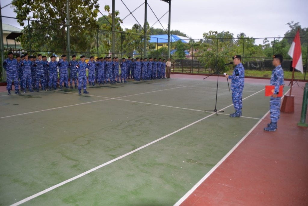 Upacara 17an di Kosek IV, Kasau Tekankan Netralitas TNI