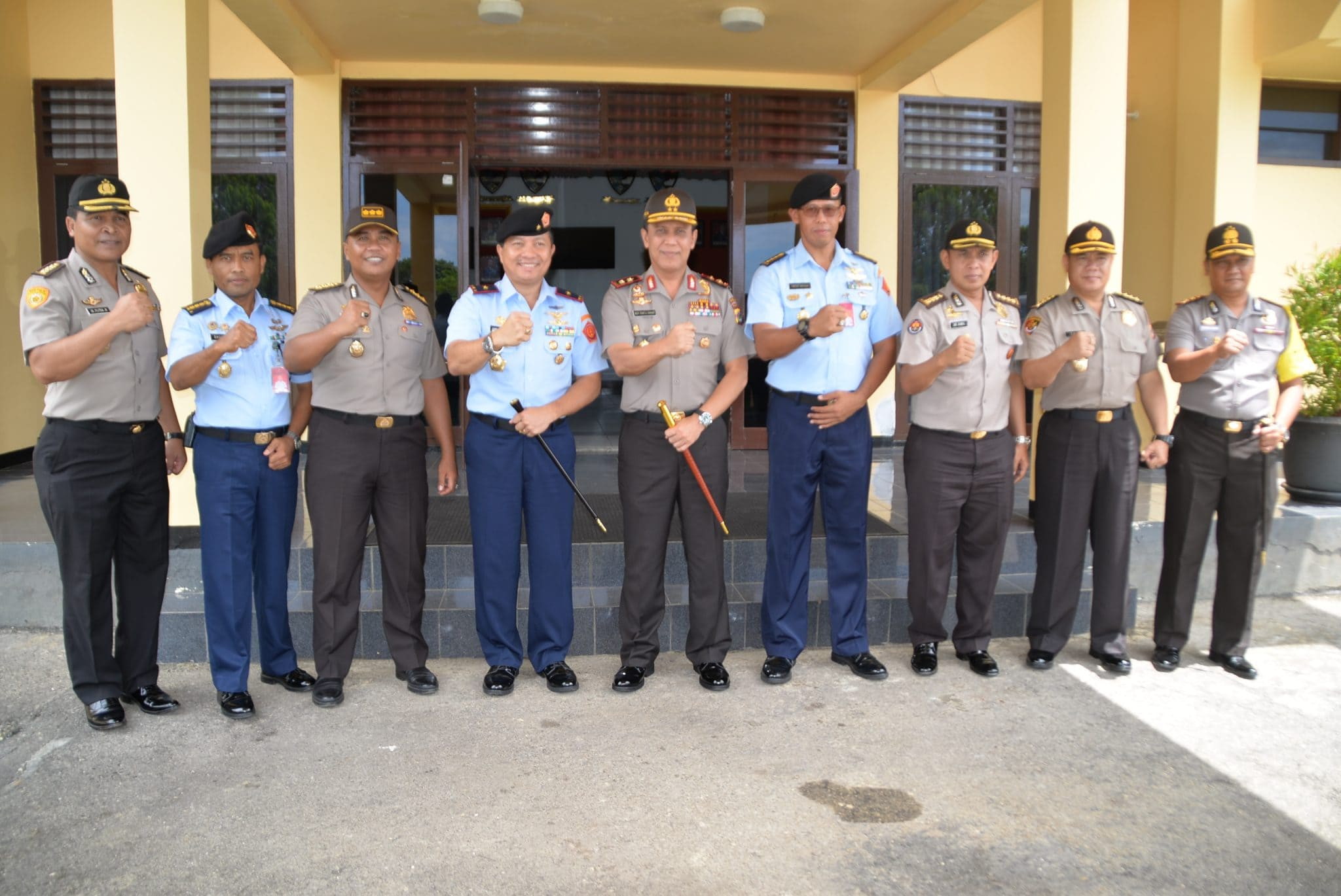 Kapolda Papua Kunjungi Kosekhanudnas IV