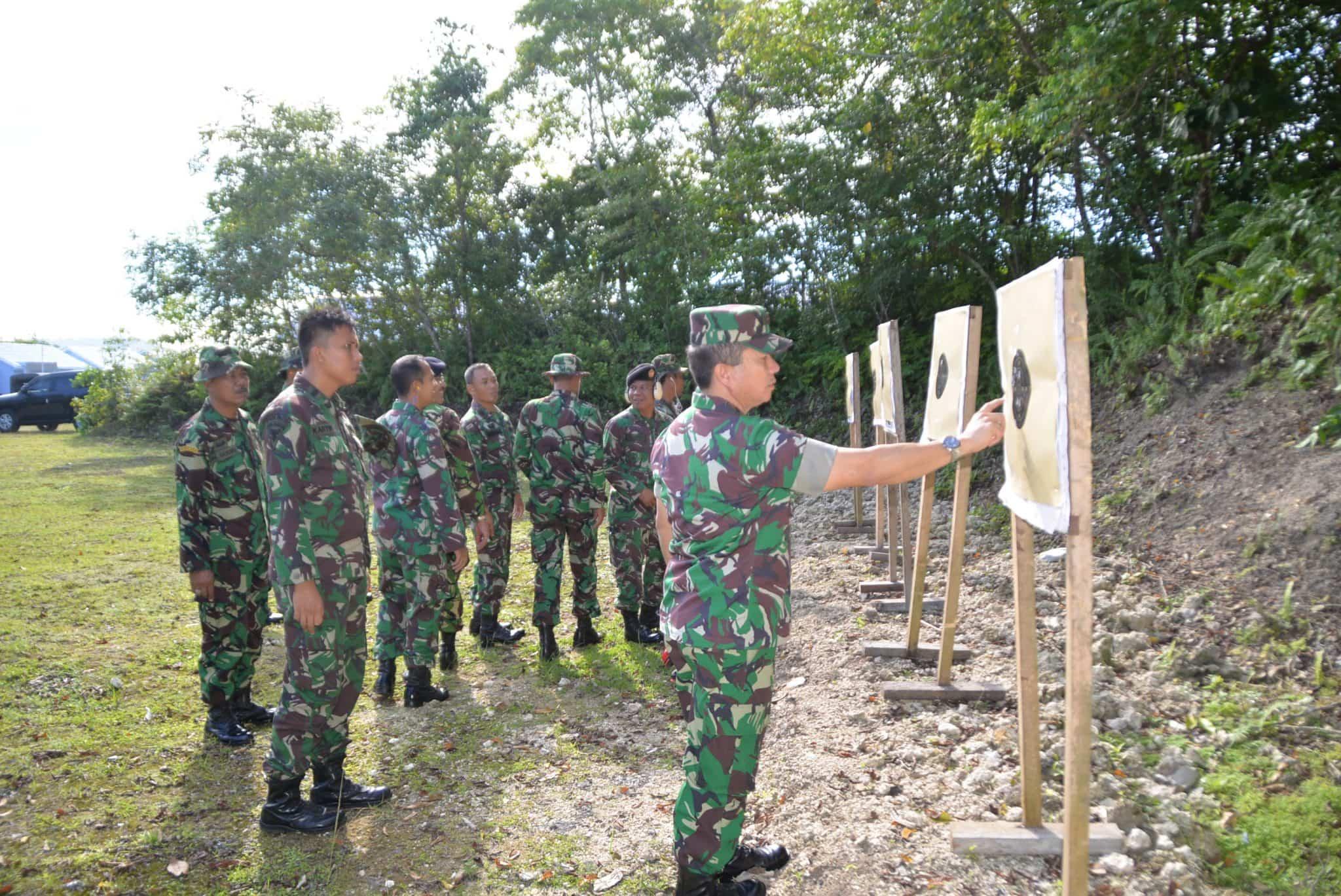 Kosekhanudnas IV Laksanakan Latihan Menembak