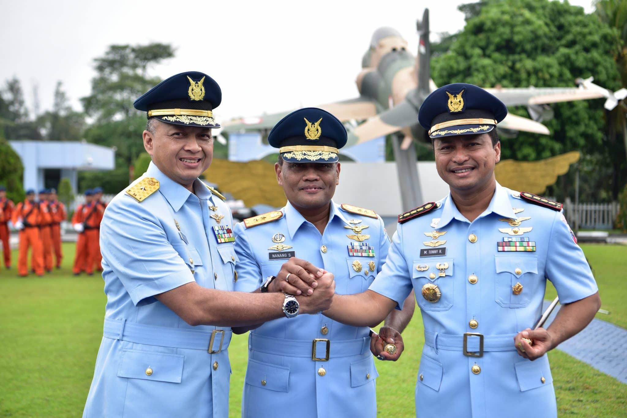 Komandan Lanud Halim Perdanakusuma diserahterimakan