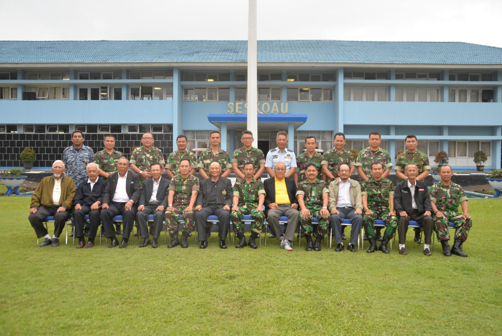 Wadanseskoau Terima Kunjungan EX-RMAF Eagles Golf Group