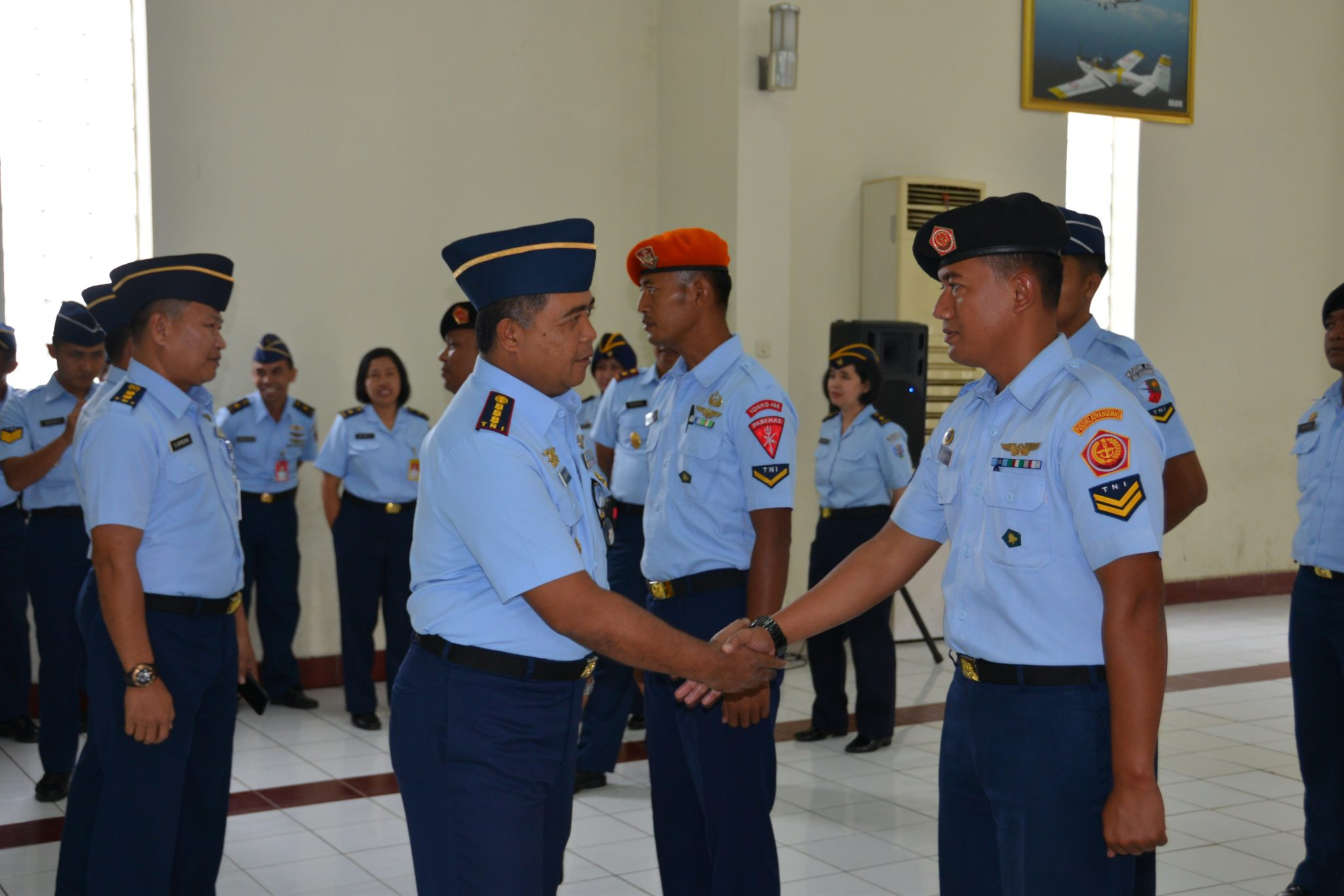 Pembukaan Susgumil Bintara A-27 Skadik 201 Lanud Sulaiman