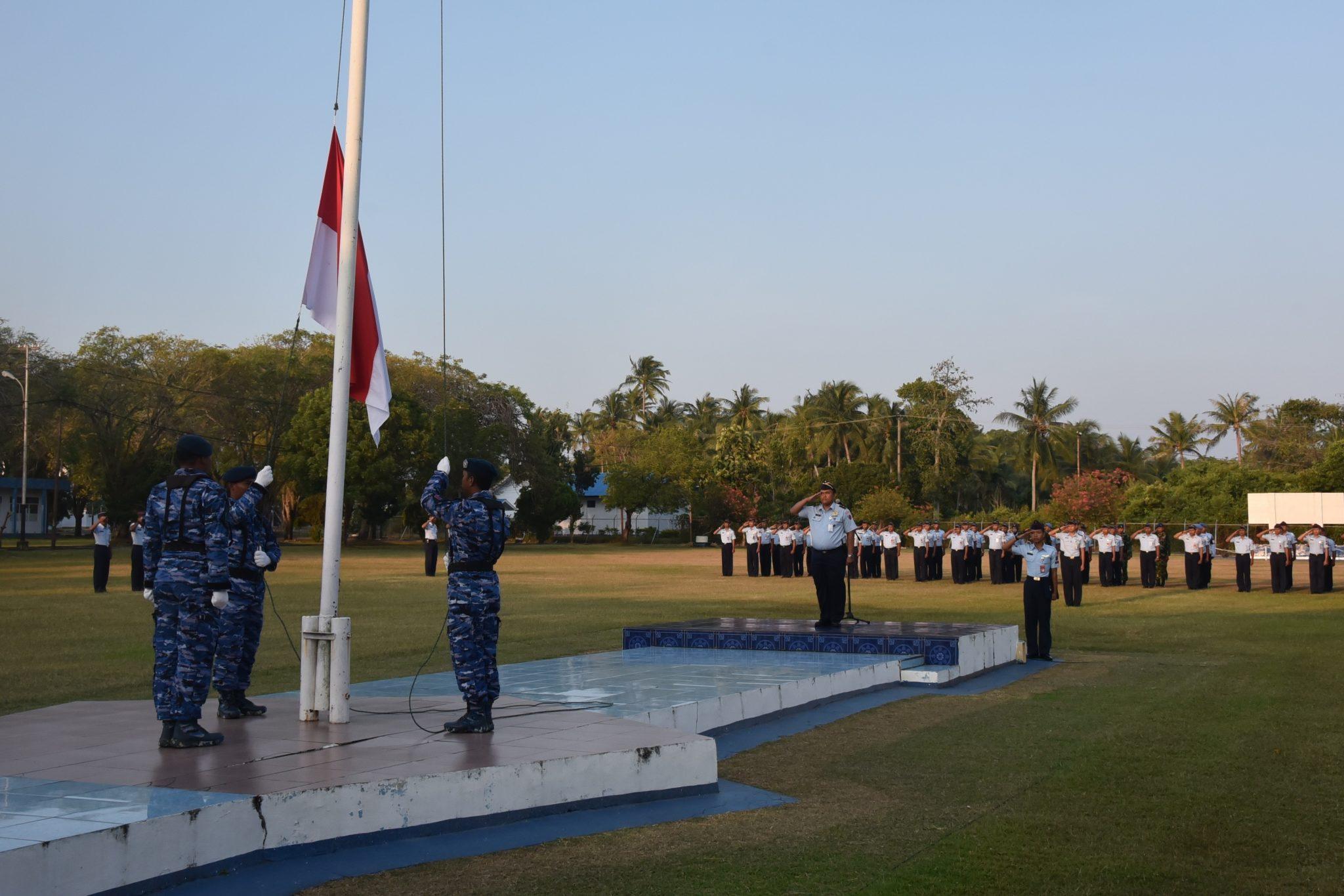 Upacara Bendera Mingguan Dilanjut Permildas Rutin Di Lanud Maimun Saleh