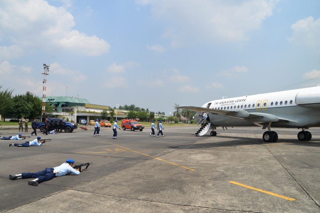 Kosekhanudnas III Medan Tangkap Pesawat Asing Tak di Kenal