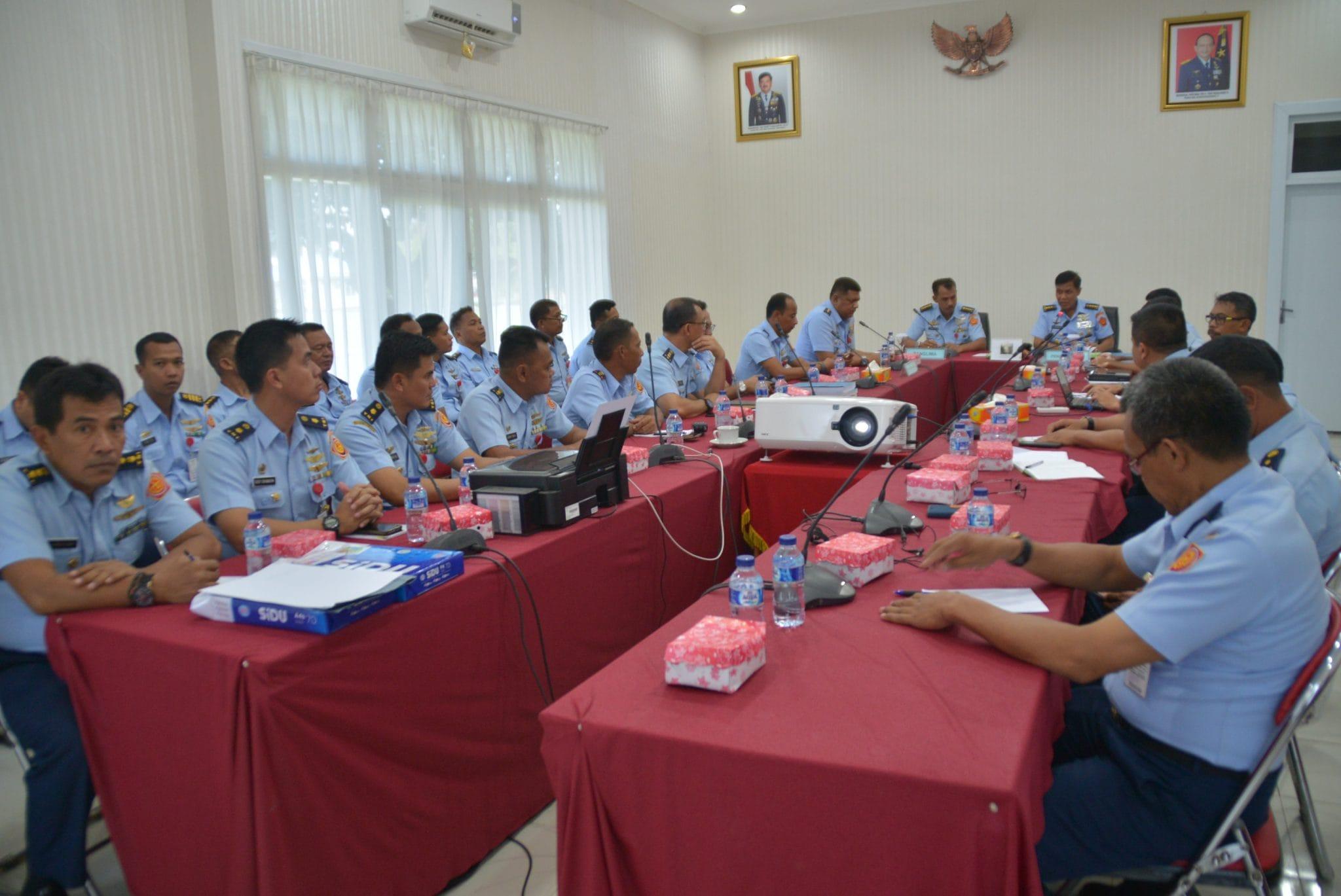 Exit Briefing Tim Wasrik Itkohanudnas Di Kosekhanudnas II