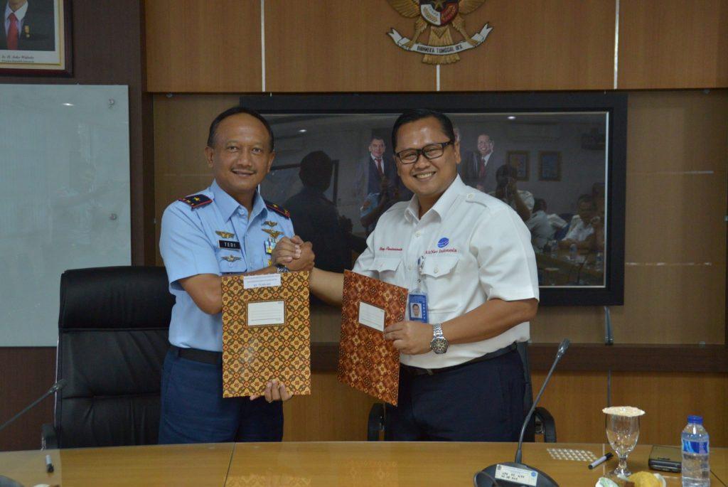 Bantuan Pembangunan Gedung Prasarana Pendidikan PAUD Kosekhanudnas II Terima dari MATSC