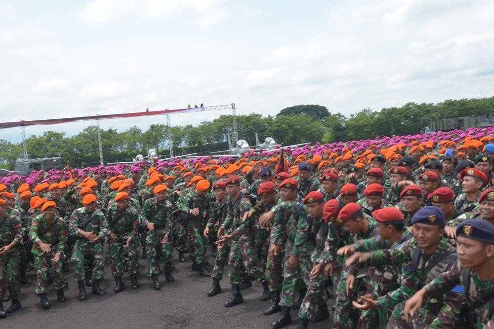 DALAM RANGKA ALIH KODAL, PPRC TNI GELAR GLADI BERSIH