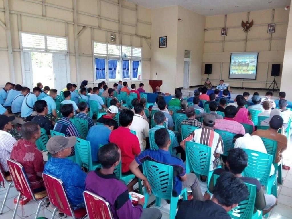 Lanud HAD, Bank BNI dan Masyarakat Bertekad Memajukan Sektor Pertanian Bengkayang