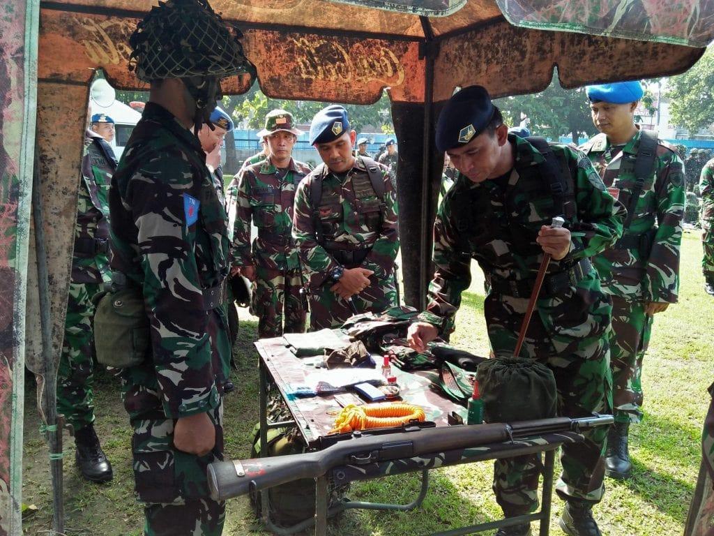 Caprasis Semata PK TNI AU A-74 Laksanakan Latihan Olah Yudha