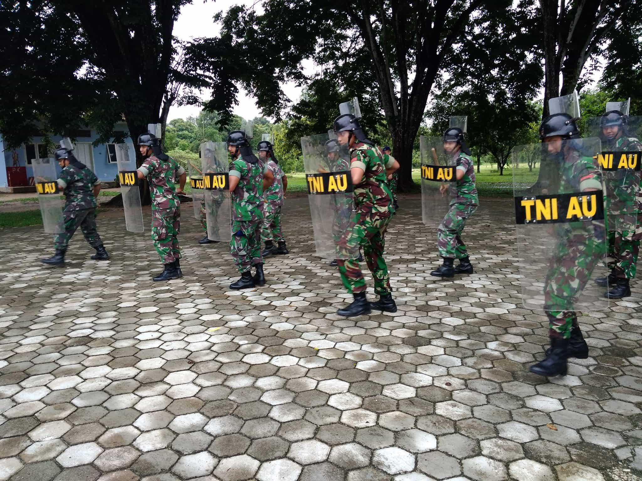 Latihan PHH Di Lanud Pangeran M. Bun Yamin