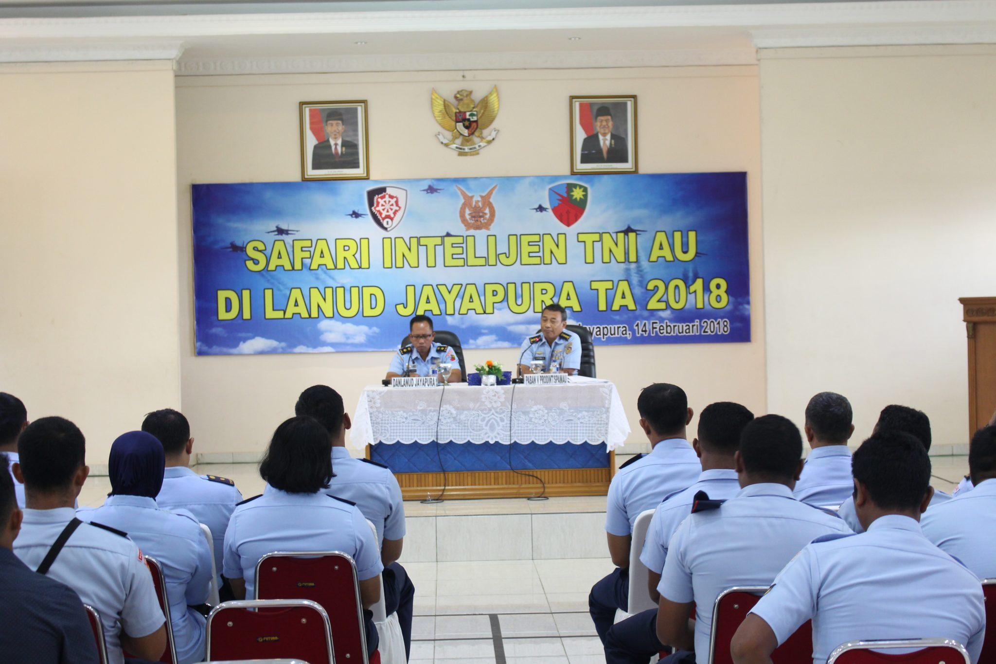 Safari Intelijen di Lanud Jayapura