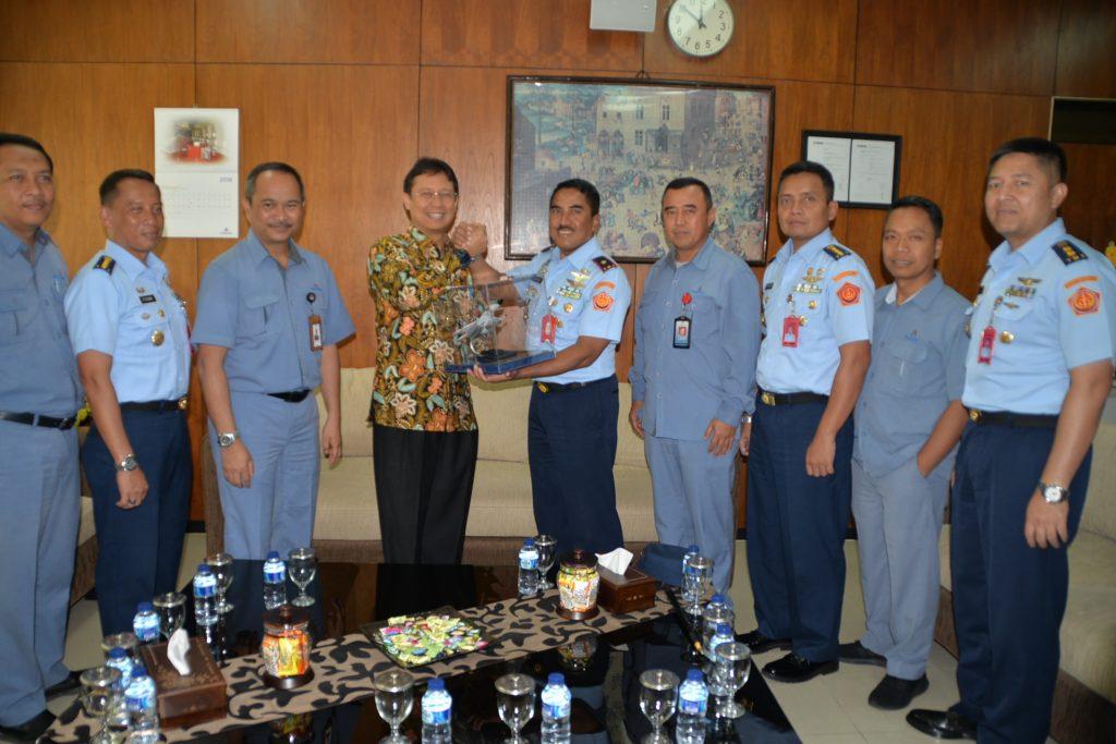 Pangkosekhanudnas III Kunjungan Kerja ke PT. Inalum
