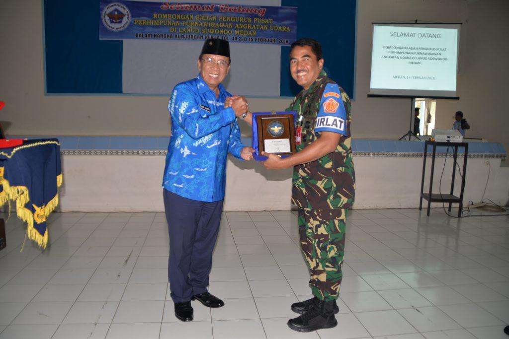 Panglima Kosekhanudnas III Hadiri Kunker PPAU Pusat ke PPAU Medan