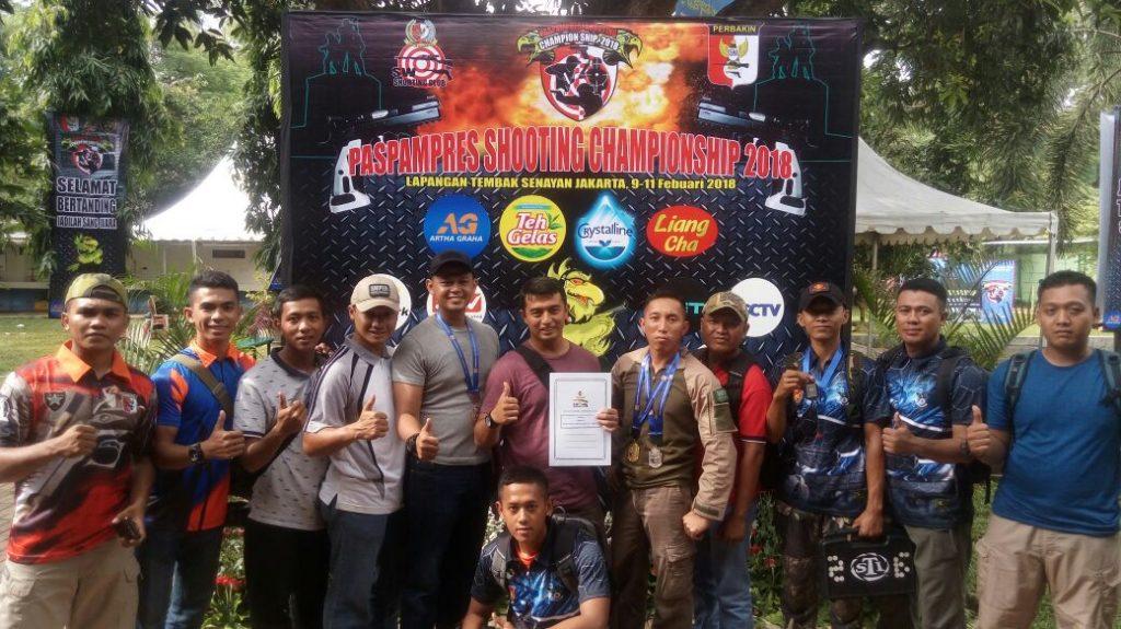 Prestasi Atlet Tembak Wing I Paskhas pada Paspampres shooting Championship 2018
