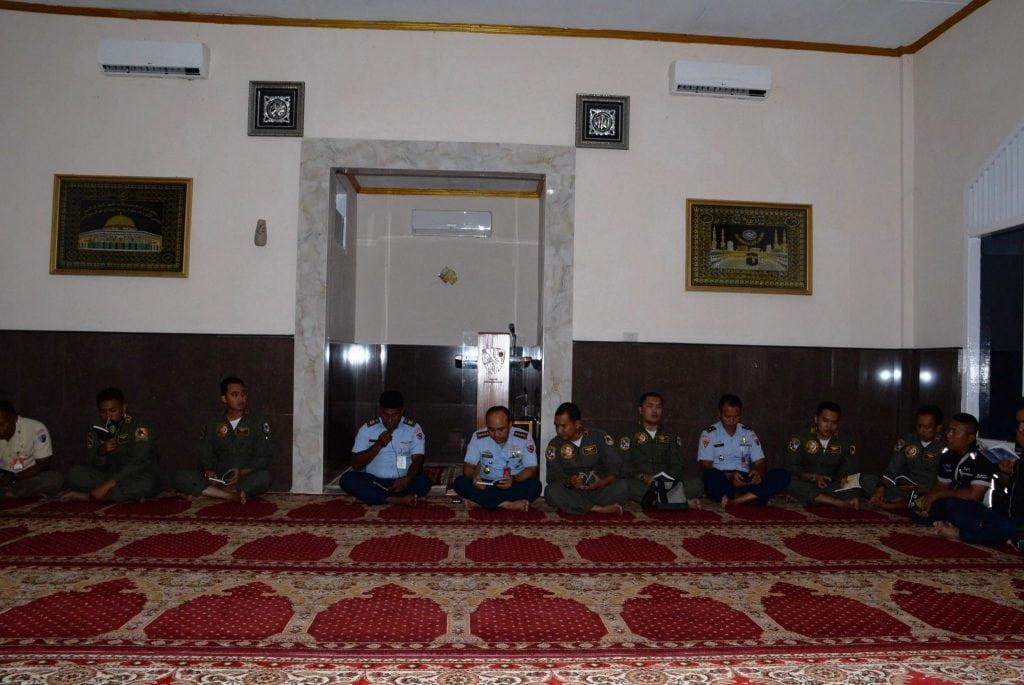 Doa Dan Yasinan Awali Latihan Skadron Udara 12 Di Lanud Sim