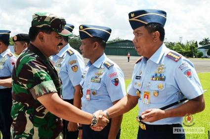 Danwingdikum Sambut Panglima TNI