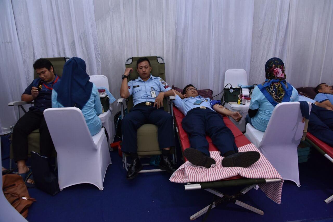 Peringati Ultah ke-2, NASPCI Gelar Aksi Donor Darah